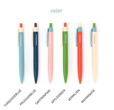 Colour Pop Point Pen #stationery #office supplies