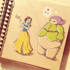 Big Hero 6~ Cute!