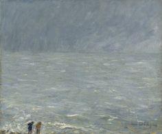 """Kees van Dongen""""Trouville, la mer"""",1904.  Oil on canvas54 x 65.4 cm. Private collection"""