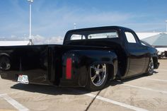 Classic step side Chevy..