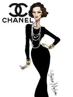 Coco Chanel - by Armand Mehidri