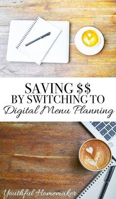 Making the Switch to Digital Menu Planning (Mini-Workshop)