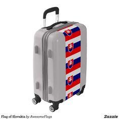 Flag of Slovakia Luggage