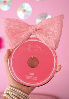 I have that bow that I got for Christmas as well as three other bowls that were different colors ♡ and I got her cd for Christmas I was so happy! I love it And the bows. {: ,«3 :3