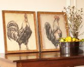 Antique Roosters