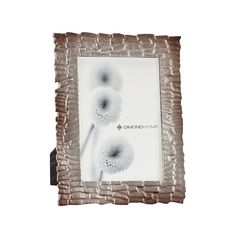 Merrimack 4x6 Photo Frame In Distressed Nickel by Dimond Home