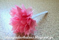 Ιδέες για δασκάλους: Λουλούδια από ριζόχαρτο :-) Icing, Communication, Projects To Try, Learning, Crafts, Manualidades, Studying, Teaching, Handmade Crafts