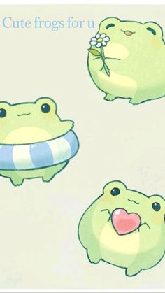 Cute frogs for u
