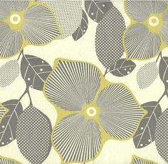 I like this fabric with it's gray and yellow and tan (ish)