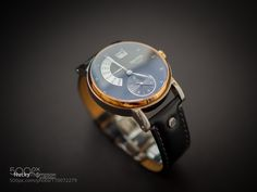 Bruno Sohnle Glashutte S/A German Gold Watch by Nucky