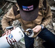"Black Rifle Coffee Company on Instagram: ""Stars, Bars, ARs & Beans - the American DNA. #blackriflecoffee #coffeeordie"" Black Rifle Coffee Company, Dna, Beans, American, Instagram, Beans Recipes, Gout"