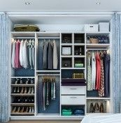 Reach-in Custom Closets