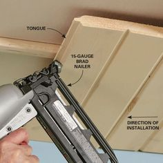 Installing tongue-and-groove (aka T&G) boards is a fast, inexpensive way to panel any ceiling or wall. Learn how to tackle this shiplap ceiling project. Wood Plank Ceiling, Shiplap Ceiling, Wood Ceilings, Wood Planks, Ceiling Tiles, Wood Paneling, Patio Ceiling Ideas, Porch Ceiling, Bedroom Ceiling