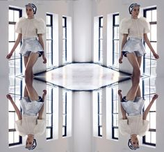 Mirrored photography