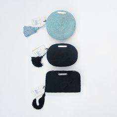 ● Bolsos de fiesta hechos en cordón de seda | Modelo Olivia, Antonia y Jimena | Diseños de Olvido Madrid
