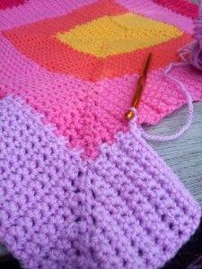 Ten Stitch Blanket Crochet Pattern 3 225x300 Ten Stitch Blanket Crochet Pattern