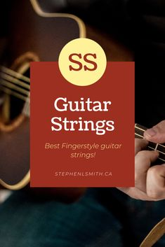 What are the best fingerstyle guitar strings? There are many factors that go into choosing the best strings for you, so I've broken it down into a few important categories. Fingerstyle Guitar, Cool Electric Guitars, Learn To Play Guitar, Beautiful Guitars, Guitar Strings, Guitar Picks, Vintage Guitars, Cool Guitar, Playing Guitar