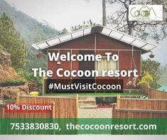 #BestHotelInNainital #BestHotel #BestResort #Nainital #TheCocoonResort #UttrakhandTourism #Pangot #contactus Best Resorts, Best Hotels, Nainital, Camps, House Styles, Places, Nature, Naturaleza, Nature Illustration