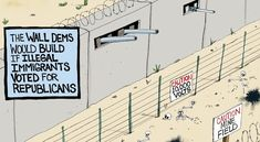 If Illegals Voted Republican - A.F. Branco Cartoon - Conservative Daily News