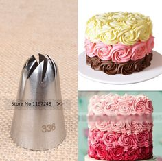 12pcs Plastic Piping Icing Nozzle for Simulation whipped Cream Cake Decor Pastry