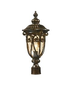 "Logansport 4"" 1 Light Outdoor Outdoor Post Lamp in Hazelnut Bronze"