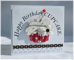 Cupcake Paper Punch Valentines day