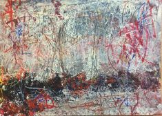 Untitled #zoranzekanovic acrylic on photopaper A4 #abstractpainting #raw #rawart #gesture #artforum #artsagram #artisttowatch