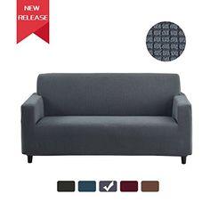 RUBEDER Stretch Sofa Slipcover Couch Cover 1-Piece Jacquard Polyester Spandex Fabric Elastic Furniture Protector (Polar Fleece Plaid, Grey) #RUBEDER #Stretch #Sofa #Slipcover #Couch #Cover #Piece #Jacquard #Polyester #Spandex #Fabric #Elastic #Furniture #Protector #(Polar #Fleece #Plaid, #Grey)