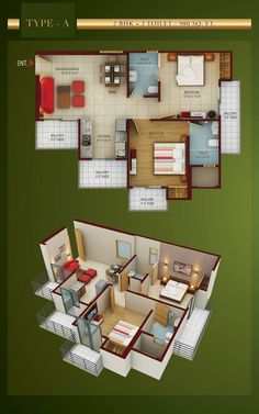 If you are looking for floor plan of Paras Seasons residential project then visit Futurefortune.co. Paras Seasons offers 1/2/3 Bhk apartments with different sizes at very affordable price.