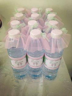 süslü su şişesi, doğum günü süsleri