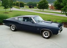 1969 Ford Torino Cobra Jet 428 Fastback. Oh, I'm in love... :-)