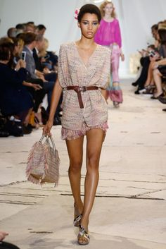 """DVF - Diane von Furstenberg celebrates """"truth, nature and freedom"""" with fun and flirtatious looks in the SS16 collection."""
