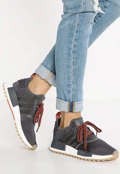adidas Originals NMD_R1 - Trainers - utility black/craft chili - Zalando.co.uk