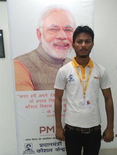 "PMKK RAMPUR - Retail candidate got selected in ""LIC "".   #PMOIndia #RajivPratapRudy #SkillIndia #NSDC National Skill Development Corporation #PMKVY #PMKK"