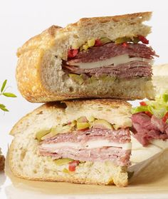 Muffaletta is a mouthwatering New Orleans specialty sandwich!