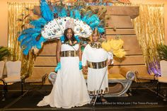 This year's Krewe of Rameses queen was Verleka Angelica Williby and king was David McLean.