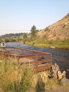 "A brief history of the famous ""feeding the fish"" spot in the town of Warm River, Idaho and on the river of which the town is named in East Idaho on the way to Mesa Falls and Yellowstone Park."
