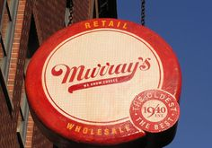 This is a must see place to see when I'm back In NYC #Murray's is a cheese-lover's heaven. Considered the best New York #cheese stop, this shop is full of a huge variety of fresh cheeses, pastas, tomato sauces and breads.   (West Village)   http://www.traveezy.com