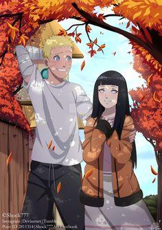 Hace mucho tiempo quería dibujar a Naruto con su princesa *u*