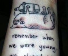 ... Pink Floyd Cat Tattoos Fat Cat Boss Tattoo Funny Tattoo Drunk Cat
