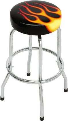 Ford Mustang Bar Stool W Backrest A 327 Shop Man Cave