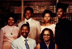 An old Carson family graduation picture. Education has always been very important to Dr. Ben Carson thanks to the his mother, Sonya Carson's, influence.
