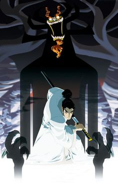 Before Avatar: The Last Airbender, there was Samurai Jack, which pioneered the American-cartoon-with-anime-influences-kinda genre. Man, Toonami was awesome, wasn't it? This delicious art by Jeffrey. Cartoon Network, Cartoon Art, Cartoon Characters, Fan Art, Character Art, Character Design, Animation, The Villain, Grafik Design
