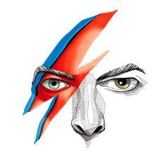 david bowie illustarion - Yahoo Image Search results
