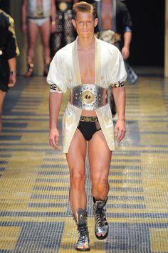 Versace SS13 Menswear Show