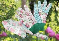 Das perfekte Geschenk zum Muttertag - schönes Gartenwerkzeug mit Rosendruck