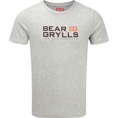 #Craghoppers mens bear #grylls logo graphic #printed casual t shirt,  View more on the LINK: http://www.zeppy.io/product/gb/2/222345481508/