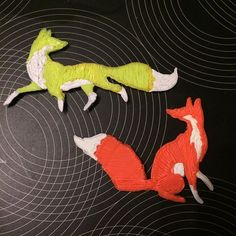 What does the fox say?! Plastic art #3doodler @3doodler