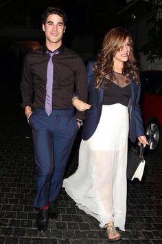 Darren and his girlfriend, Mia Swier