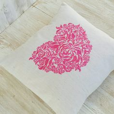 Rose heart to warm your bed.